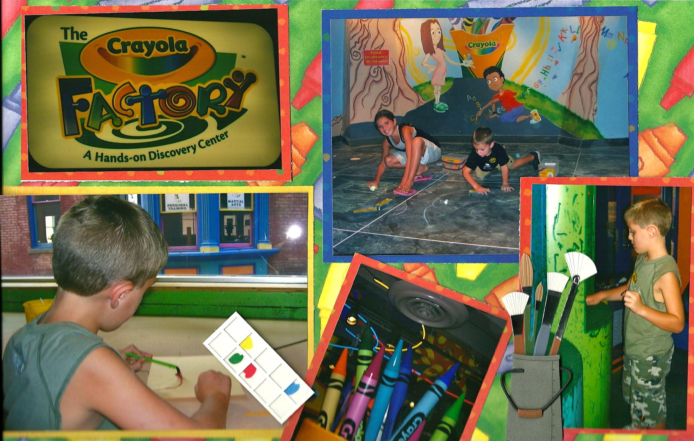 fun times at the crayola factory