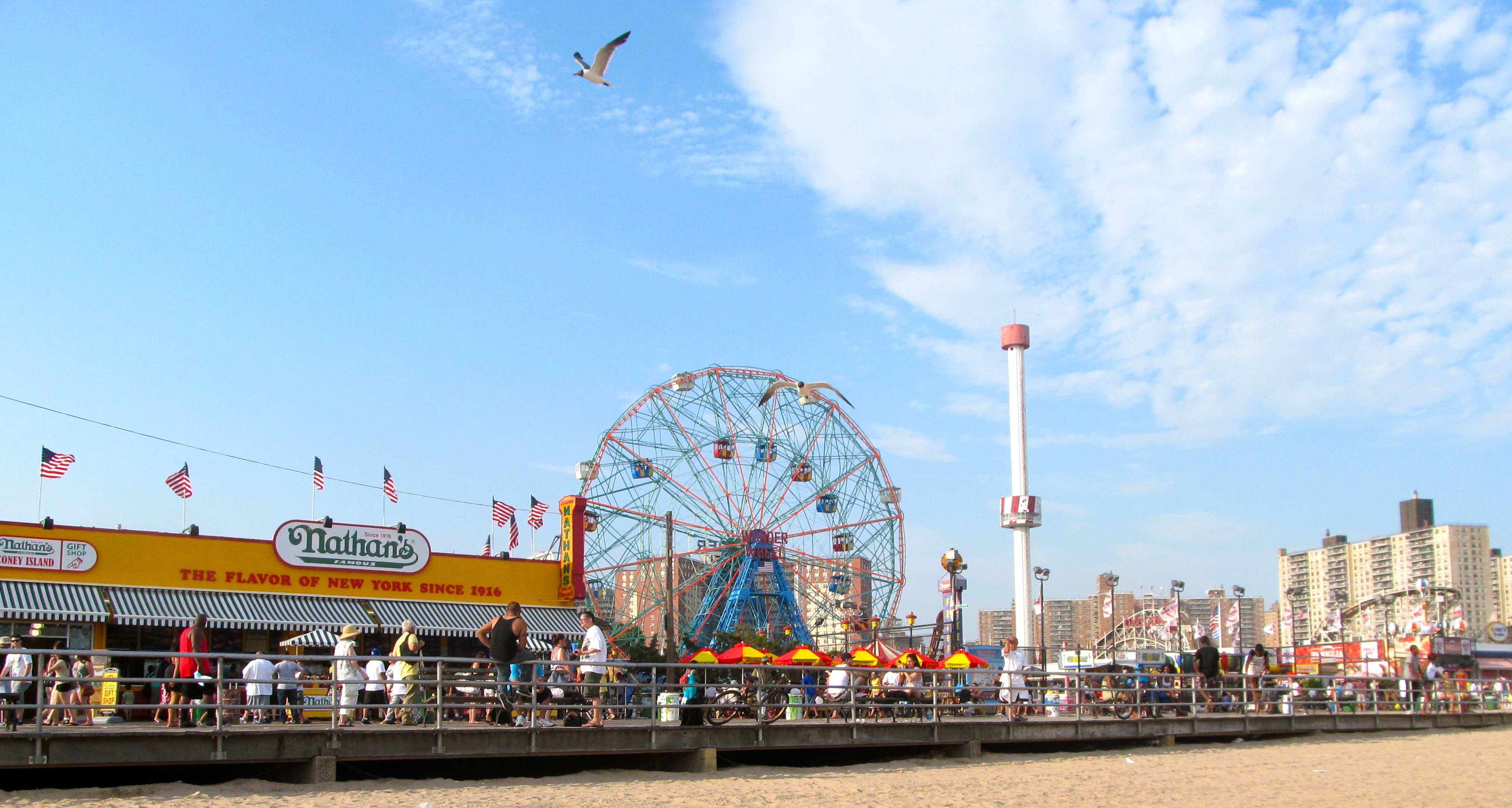 How Many Rides Are At Coney Island
