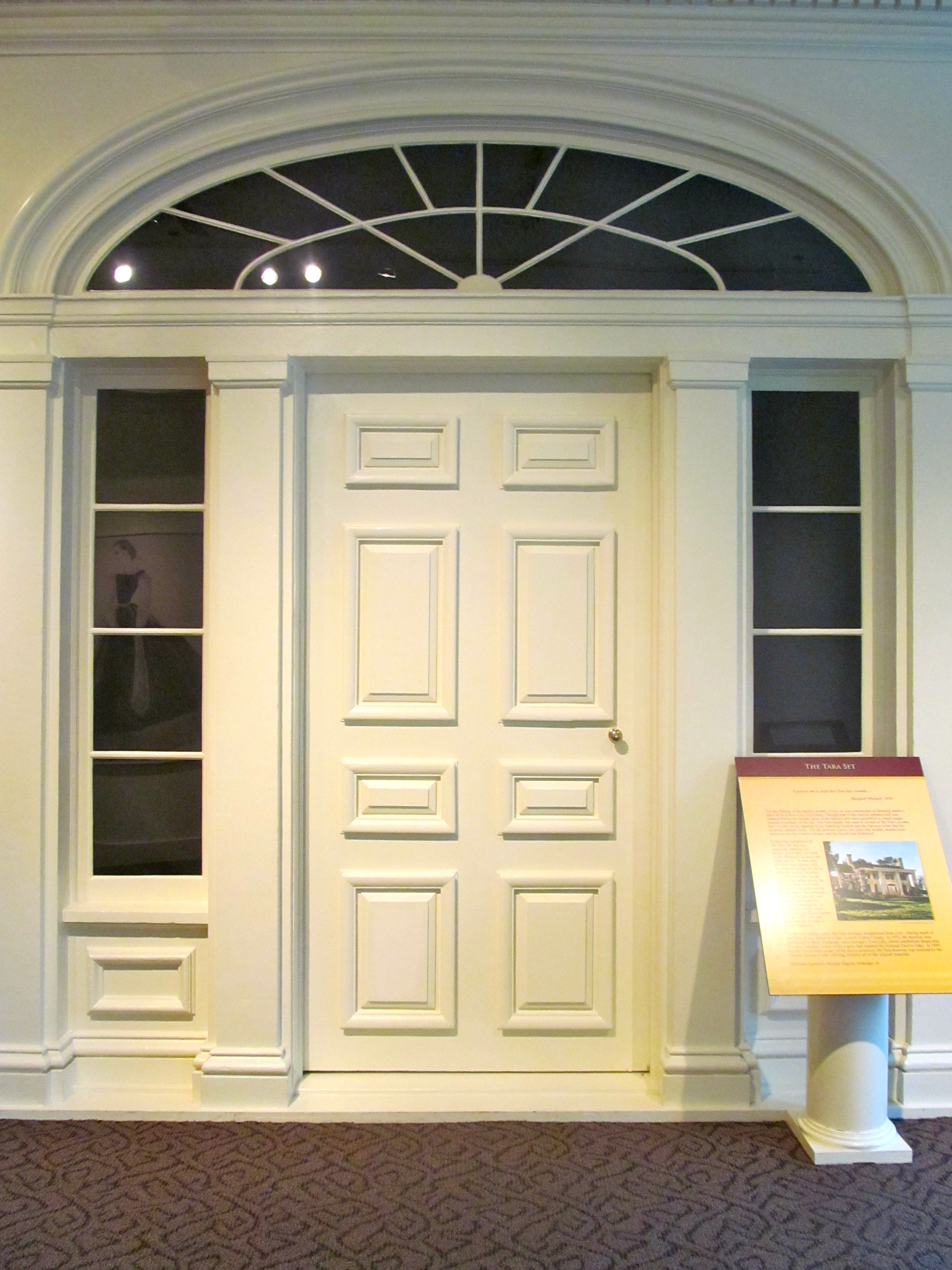 The original doors ... & The Birthplace of Gone With The Wind