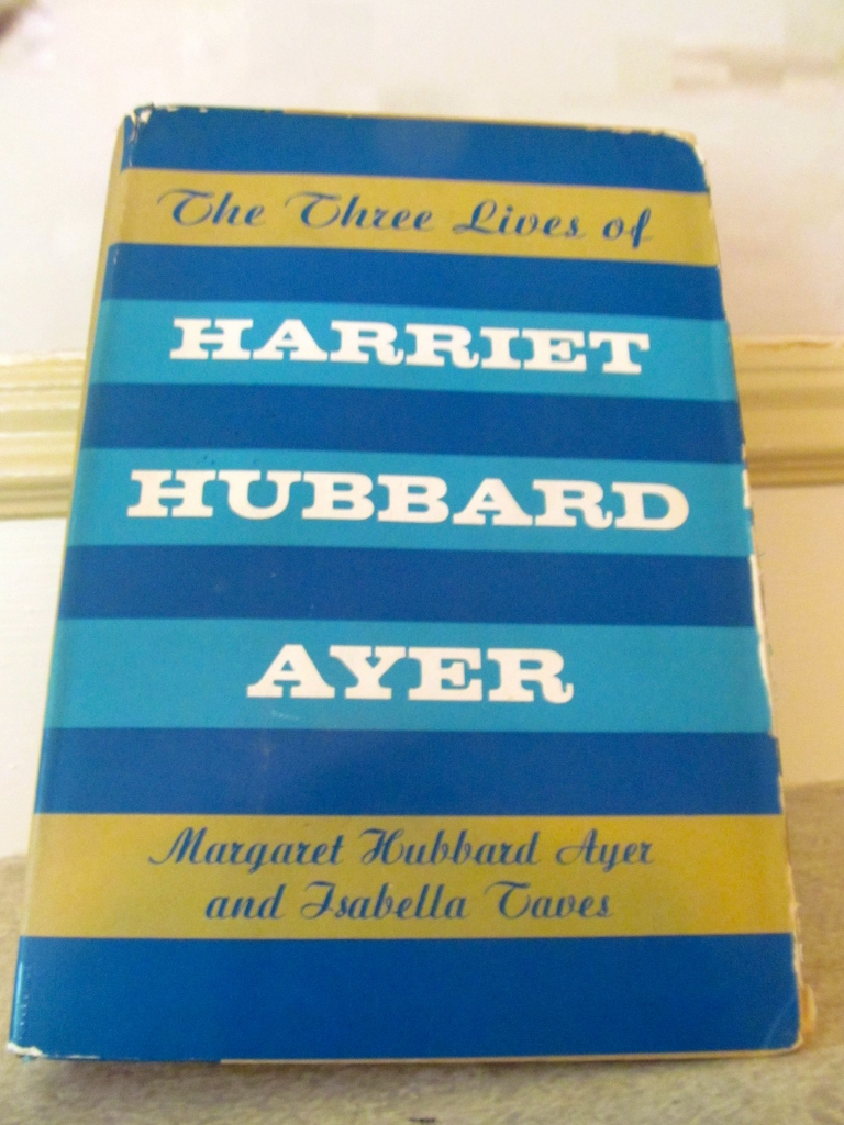 "In 1902, Harriet Hubbard published""Harriet Hubbard Ayer's Book of Heath & Beauty""."