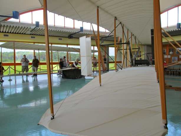 Replica of the 1903 Wright Flyer