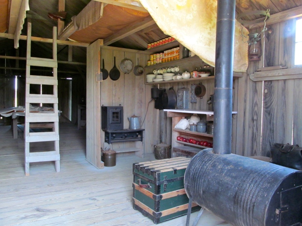 Reconstructed Living Quarters/Workshop