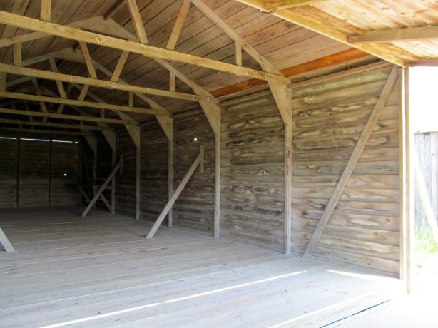 Reconstructed 1903 Hangar