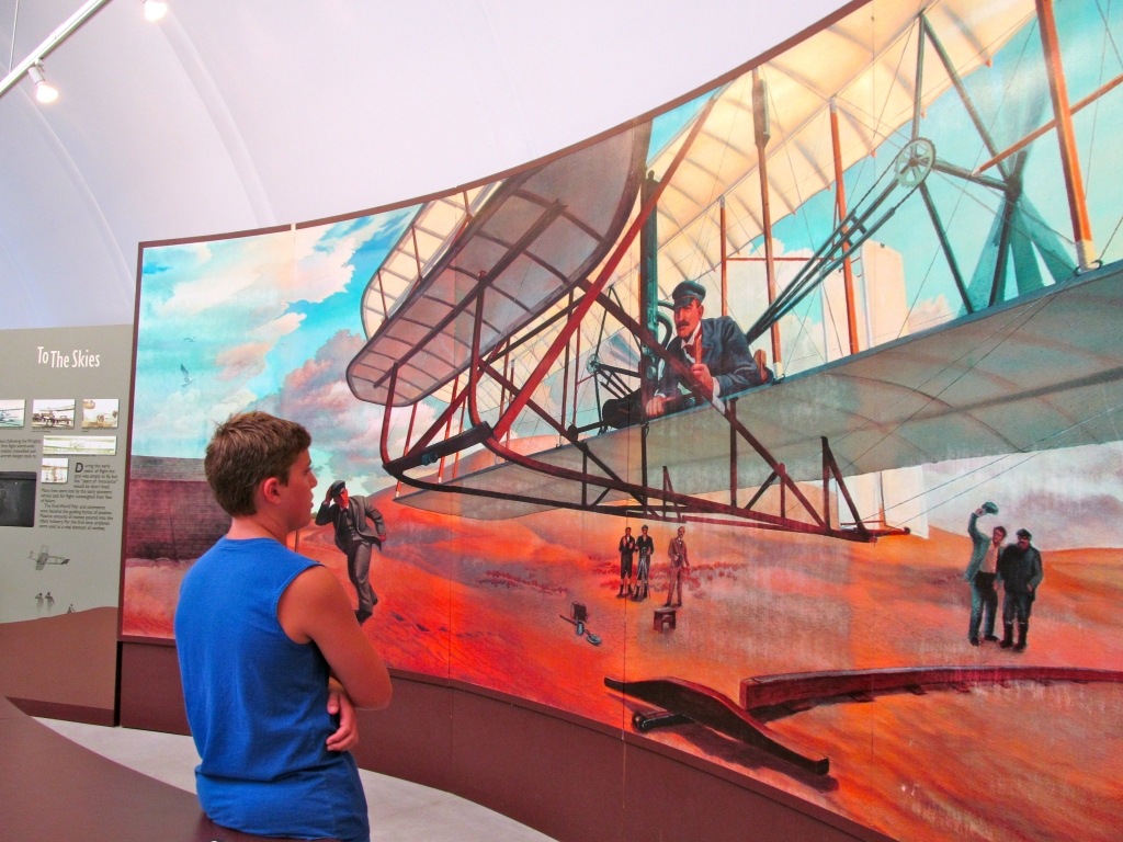 Visiting the Wright Brothers National Memorial